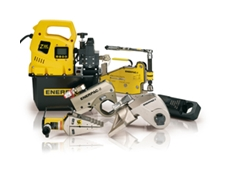 Enerpac's heavy lifting and precision bolting equipment will be on shoe as this years QME in July