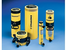 Long-stroke Enerpac RR cylinders offer proven speed and safety in high-cycle applications