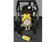 Enerpac ZA4 series air hydraulic torque wrench pump