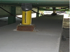 Enerpac cylinders used for Port Botany project