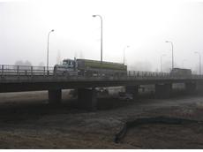 Enerpac hoisted highway bridge