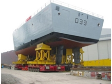 Enerpac Synchronous Lifting System for Royal Navy