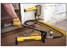 Power Push Handle grip for minimizing operating operator fatigue