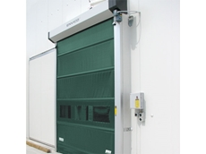 High speed doors reducing energy use and waste.