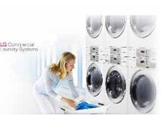 LG's coin operated laundry machines