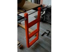 Erapol E83A and Erapol E95A flexible polyurethane used on haul truck steps