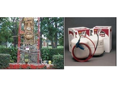 Products distributed by Era Polymers restore Indian statue