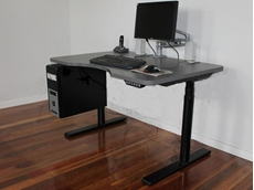 An adjustable standing desk gives you the ultimate freedom and flexibility to switch between sitting and standing positions throughout the day