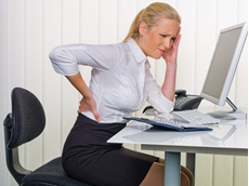 Back pain is a serious fallout of sitting on the wrong kind of chair