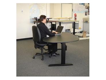 Electric sit/stand ergonomic height adjustable desks