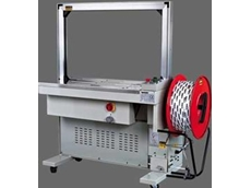 The Messersi Semiautomatic strapping machine