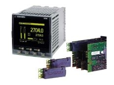 Plug-in modules for higher I/O density.