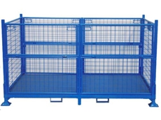 Steel Cages for Warehousing and Logistics Handling