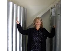 Ducting expert, Helen Roberts