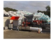 Heger machines for volume reduction and plastic foam recycling available from Maleplas International