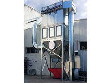 Ezi-Duct dust collection system at the NSW joinery works