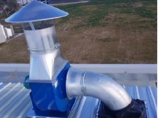 Part of the Ezi-Duct fume extraction system