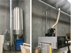 ECono 6000 C dust collector installed for Melbourne cabinetmaker