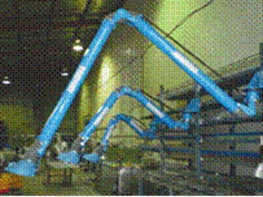 Ezi-Duct Fume Extraction Arms