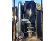 Ezi-Duct dust collection system at Broadford Men's Shed