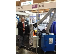 Wayne Dockrill MD of Ezi-Duct at the Ezi-Duct/ Polex Stand NMW 2014
