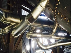 Ezi-Duct installed at QLD silo ventilation project