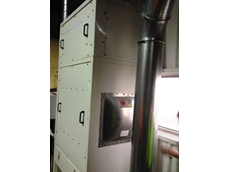 The Ezi-Duct eCompact 3000 dust collector features an automatic self-cleaning system