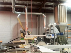 Ezi-Duct provides sawdust extraction system to modern Sydney kitchen manufacturer