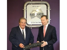 Burkhard Mollen of Norres recently visited Ezi-Duct, the Australian supplier for their industrial flexible ducting and hosing products
