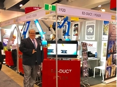 Ezi-Duct's Managing Director, Wayne at NMW 2017