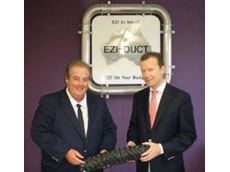 Ezi-Duct MD Wayne Dockrill with Burkhard Mollen