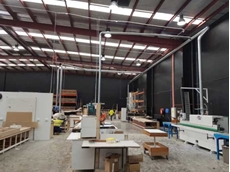 Ezi-Duct's Victorian Branch installed the eCono 6000C 7.5 kW dust collector along with modular and flexible ducting within the factory