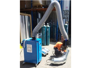 Mobile Fume Collector