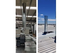 Ezi-Duct installed new modular ducting for a leading Australian carpet manufacturer for fume and steam removal