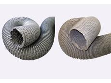 New Hi-Temp (L) and Flame Retardant (R) flexible ducting