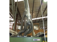 Ezi-Duct Modular 'Spider' Ducting at the UTJ Factory