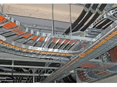 EzyStrut cable trays offer flexibility