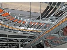 EzyStrut cable trays offer flexibility