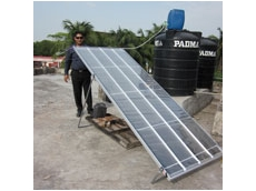 F Cubed's Carocell solar water desalination technology