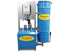Centraction industrial vacuum cleaner incorporates SMVector inverter drive for improved performance and reduced cost