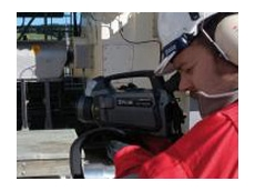 Thanks to thermal imaging cameras, Inspectahire can easily detect gases in difficult to reach or hazardous locations