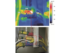 Use of thermal imaging in cockpit inspections helps locate electrical problems very quickly and accurately