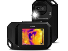FLIR C2 thermal camera for building inspections