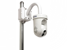 D-Series thermal dome security cameras can be easily integrated into existing TCP/IP networks
