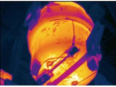 FLIR Systems' fix mounted infrared cameras applied for steel ladle refractory inspection