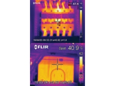Thermal images of electrical installations from infrared cameras are useful for preventive maintenance in BASF