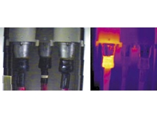 Thermal image of a structure is used for Predictive Maintenance