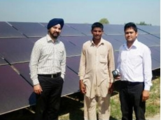 FLIR i7 thermal imaging cameras detect problems with Indian solar plants
