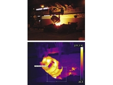 FLIR thermal imaging cameras used in industrial predictive maintenance inspections
