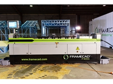 Mobile steel framing factory purchased from its manufacturer FrameCAD Solutions